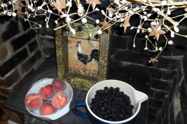 Peaches & Blackberries