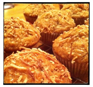 Banana Lime Muffins